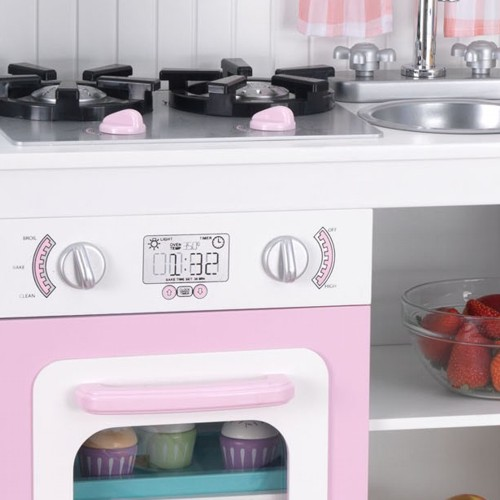 Kitchen play modern country kitchen for Kidkraft modern country kitchen 53222