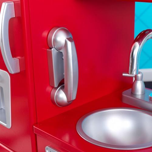 Kidkraft Red Vintage Kitchen  Uk